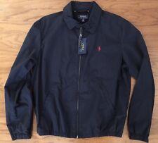 NWT $145 POLO RALPH LAUREN Men's Lightweight Navy Windbreaker Jacket Coat Sz XL