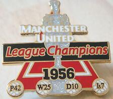 MANCHESTER UNITED Victory Pins 1956 LEAGUE CHAMPIONS Badge Danbury Mint