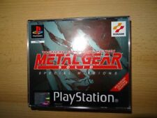 Videojuegos Metal Gear Solid Sony PlayStation 1 PAL
