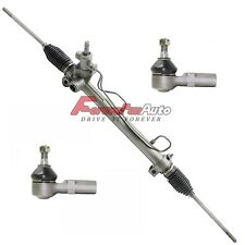 New Power Steering Rack & Pinion + 2 Outer Tie Rod Ends for Toyota Camry Avalon
