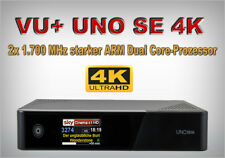 Vu + Uno Se 4K Satellite Receiver UHD 2x DVB-S2 Fbc Dual Tuner Pvr Linux 2160p