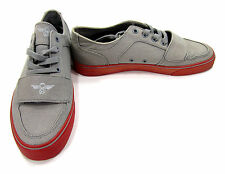Creative Recreation Shoes Cesario Lo XVI Grey/Red Sneakers Size 9 EUR 42