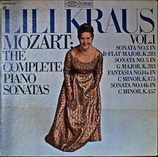 MOZART: The Complete Piano Sonatas Vol. 1-NM1968LP LILI KRAUS