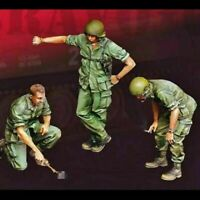 1/35 Resin Figure Model Kit Vietnam War US Soldiers Unpainted Unassembled