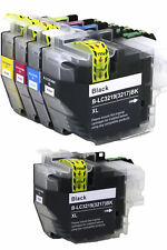 5 Compatible LC3219 (LC3217) XL inks for Brother  J5930DW  J6530DW  J6930DW