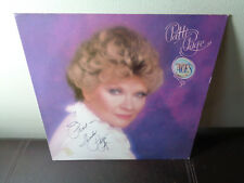 PATTI PAGE FEMALE VOCALS LP on PLANTATION / Aces / SIGNED AUTOGRAPHED