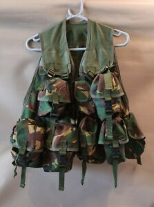 Genuine ARMY Highlander DPM TACTICAL INFANTRY ASSAULT VEST SPANISH CLIPS