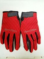 TROY LEE DESIGNS MENS RED SPRINT CYCLING GLOVES MEDIUM