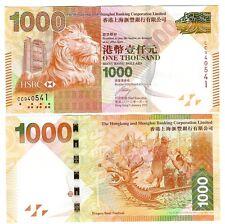 HONG KONG $ 1000 $ 1.000 HSBC 2012 UNC P 216 b
