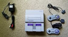 Tested Working Super Nintendo System Console SNES USA Version With 2 Controllers