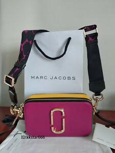 Brand new MARC JACOBS Snapshot Small Camera Bag rose muIti  bag sales