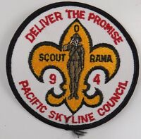 Pacific Skyline Council 1994 Deliver The Promise Scout O Rama [H2707]