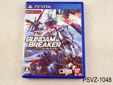 Gundam Breaker Japanese Import PS Vita PSVita Japan Region Free US Seller A