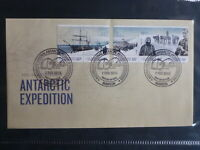 AUSTRALIA 2012 CENT AAT EXPEDITION SET 5 STAMPS MAWSON FDC FIRST DAY COVER