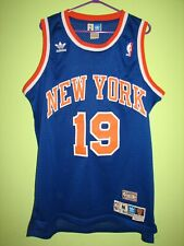 NBA #19 WILLIS REED NEW YORK SHIRT ADIDAS HARDWOOD CLASSICS JERSEY SIZE M