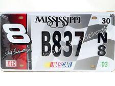 PLAQUE D'IMMATRICULATION AMERICAINE MISSIPI NASCAR ECH 1