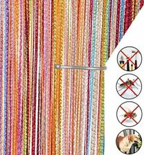 Rainbow String Chain Link Insect Fly Door Curtain Blinds Screen Pest Control UK