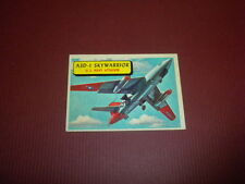 PLANES trading card #56 TOPPS 1957 Army Navy Air Force - WORLD AIRPLANES - WAR