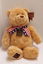 "Large Gund Brown Wish 25"" Stuffed Bear Teddy Bear 100th Anniversary 1902-2002"