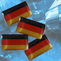 Germany Flag x4 Sticker Deutsch German Interior For BMW AUDI VW Porsche Mercedes
