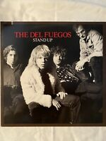 "THE DEL FUEGOS-Stand Up- 12"" Vinyl Record LP - EX"
