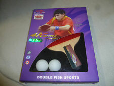 NEW IN BOX DOUBLE FISH 4A SERIES TENNIS RACKET PING PONG JAPAN PADDLE LONG NIB >