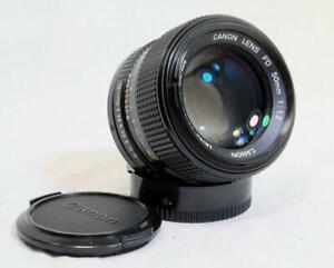 Canon 50mm f/1.2 FD Mount for 35mm SLR's w/ Caps - MUST SEE, VERY CLEAN! (9689)