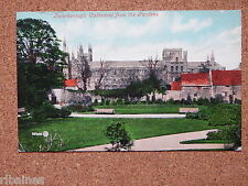 R&L Postcard: Peterborough Cathedral from the Gardens 1906