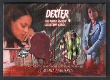 DEXTER SEASON 3 (Breygent) COSTUME CARD #D3 - C10 LT. MARIA LAGUERTA