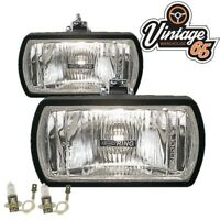 Ford Cortina Mk1 Classic Rally Style 12v Halogen Driving Lamps Spot Lights Pair