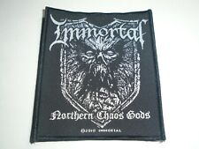 IMMORTAL NORTHERN CHAOS GODS WOVEN PATCH