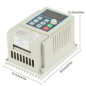 Variable Frequency Drive VFD 0.45kW AC 220 Approx. 16.5 X 11.5 X 11.2cm