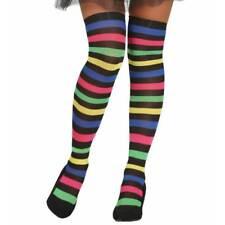 Ladies Rainbow Stripe Gay Pride  Stockings Witch Halloween Fancy Dress LGBT