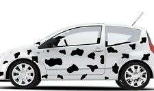 GRAPHICS CAR Cow Print VINYL DECALS STICKERS  DIECUT FOR ANY SMOOTH SURFACE