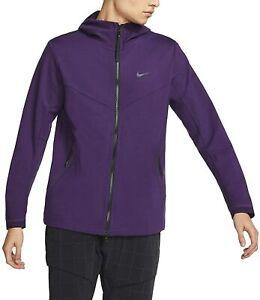 Nike Tech Pack Hoodie Jacket Sweatshirt Purple BV4489-525 Men's Fleece Athletic
