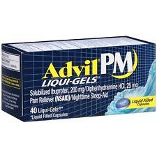 Advil PM Liqui-Gels Ibuprofen Pain Reliever 40 ea