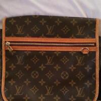 LOUIS VUITTON Messenger PM Bosphore M40106 Monogram Shoulder Bag Used