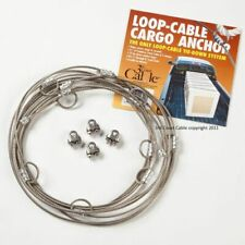 "Loop Cable Cargo Anchor 21"" feet Steel Tie Down System NEW NIB"