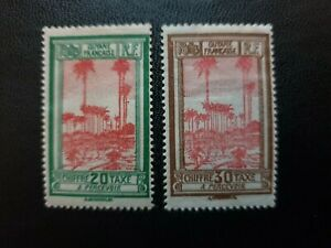 2 french Guiana postage due 1929 stamps PH
