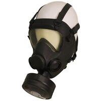 BW Armee PL Gasmaske Schutzmaske ABC Maske Atemschutzmaske MP 5 schwarz gebr.