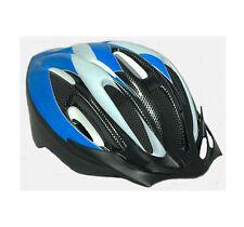 Casco ciclismo Antimosquitos color azul blanco carbono de bicicleta 3943l