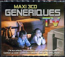 MAXI 3 CD GENERIQUES TV -  3 CD COMPILATION