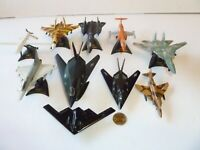 MAISTO DIE CAST PLANES LOT OF 10 Planes, Jets, Airplanes, Stealth Fighter