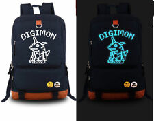 Digital Monster Digimon Adventure Backpack laptop Shoulder Luminous Bag [47]