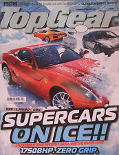 Top Gear magazine 03/2008 featuring Lamborghini, Aston Martin, Ferrari