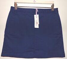 VINEYARD VINES by Shep & Ian  Navy Blue Cotton Twill Utility Skirt   Sz 10   NWT