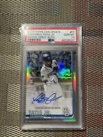 2019 Fernando Tatis Jr. Topps Chrome Update Rookie Debut Ref Auto PSA 10 Mint