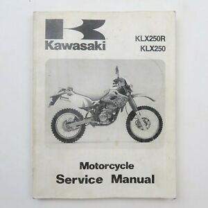 Kawasaki Motorcycle Manuals And Literature Klx Repair For Sale Shop With Afterpay Ebay