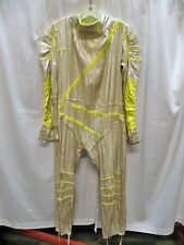Rock N Roll Outer Space Silver Lame' Jumpsuit Costume  Vintage 1960's - COOL !!