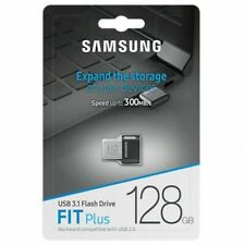 Samsung 128GB Fit Plus USB 3.1 Flash Drive Memory stick pen Drive 300MB/s -UK